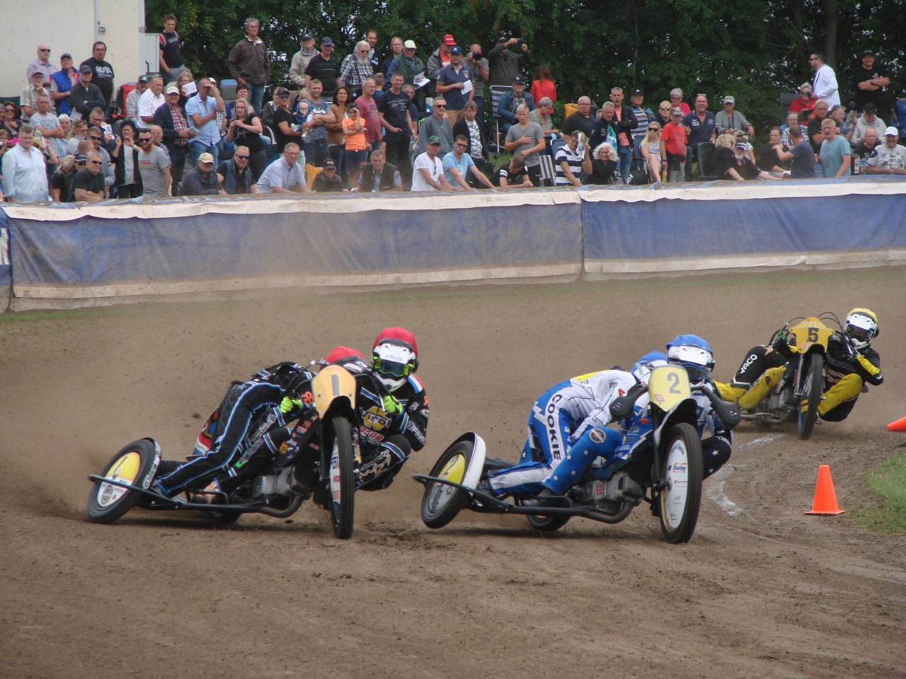 Dutch Open Grass Track op 12 mei a.s.
